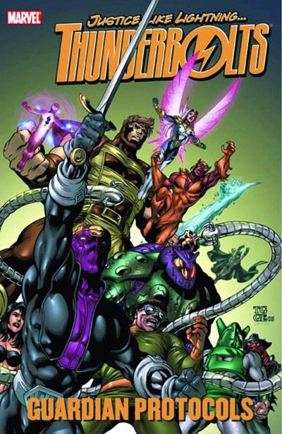 Couverture de Thunderbolts Vol.1 (Marvel Comics - 1997) -INT- Guardian Protocols