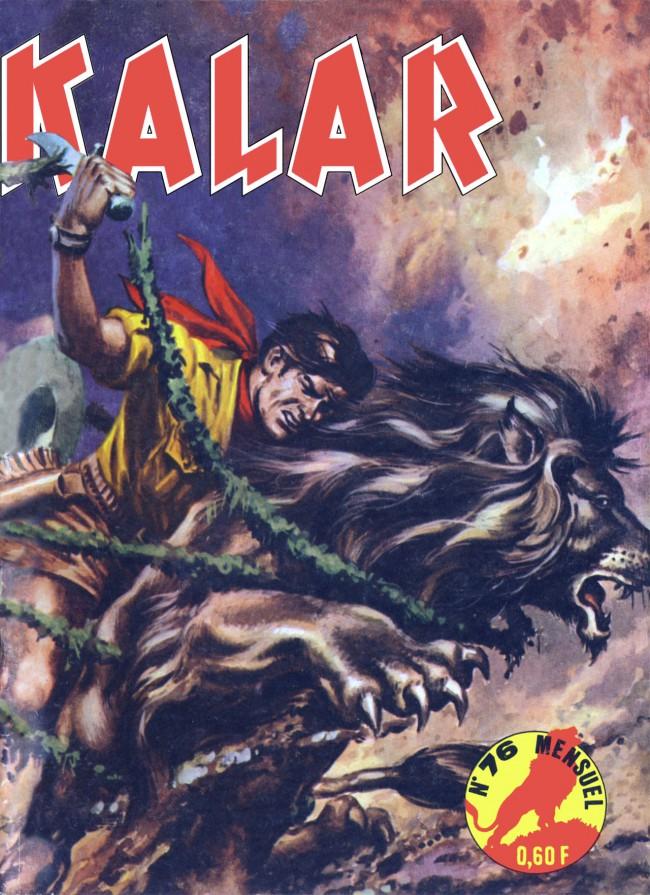 Couverture de Kalar -76- Le secret des Tchana