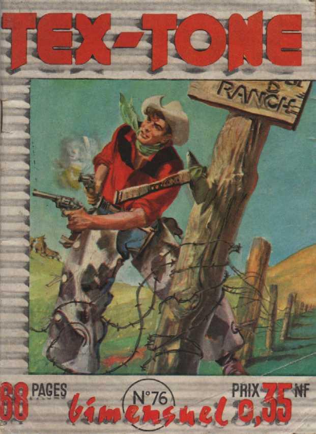 Couverture de Tex-Tone -76- Tex Tone et le chef blanc