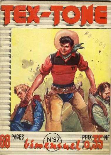 Couverture de Tex-Tone -97- Le mystere du canyon