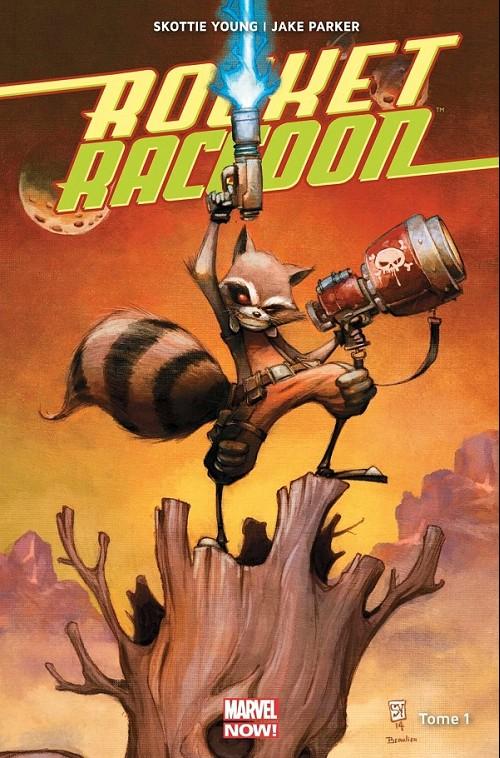 Couverture de Rocket Raccoon (Marvel Now!) -1- Il était un Groot...