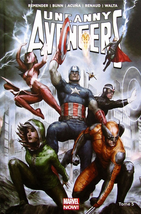 Couverture de Uncanny Avengers (Marvel Now!) -5- Prélude à Axis