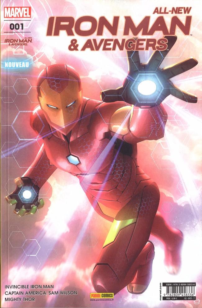 Couverture de All-New Iron Man & Avengers -1- Reboot