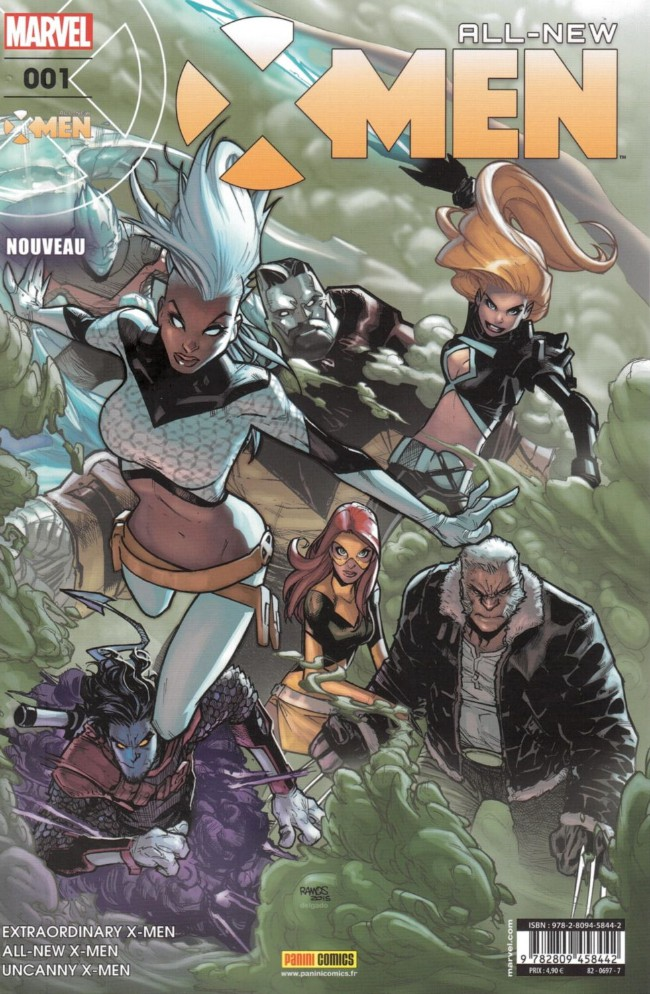 Couverture de All-New X-Men -1- Refuge-X