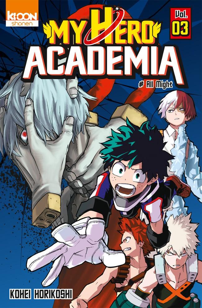 Couverture de My Hero Academia -3- All Might