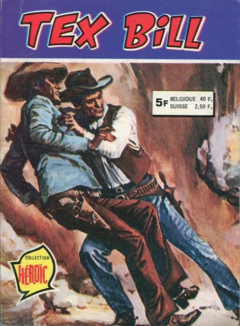 Couverture de Tex Bill -Rec561- Recueil N°561 (du n°98 au n°101)