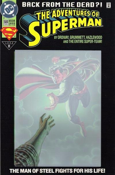 Couverture de Superman (The Adventures of) (1987) -500- Life After Death!