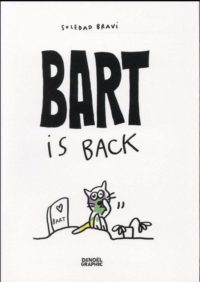 Couverture de Bart is back