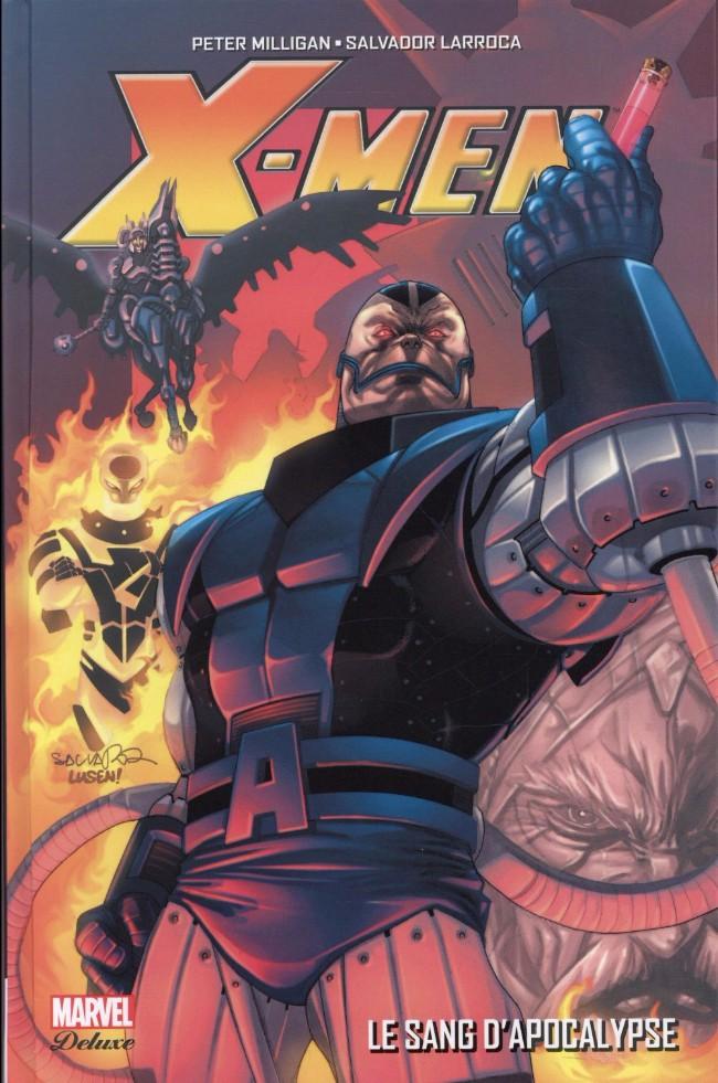 Couverture de X-Men (Marvel Deluxe) - Le Sang d'Apocalypse