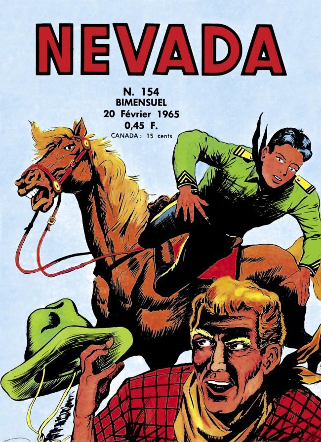 Couverture de Nevada (LUG) -154- Numéro 154