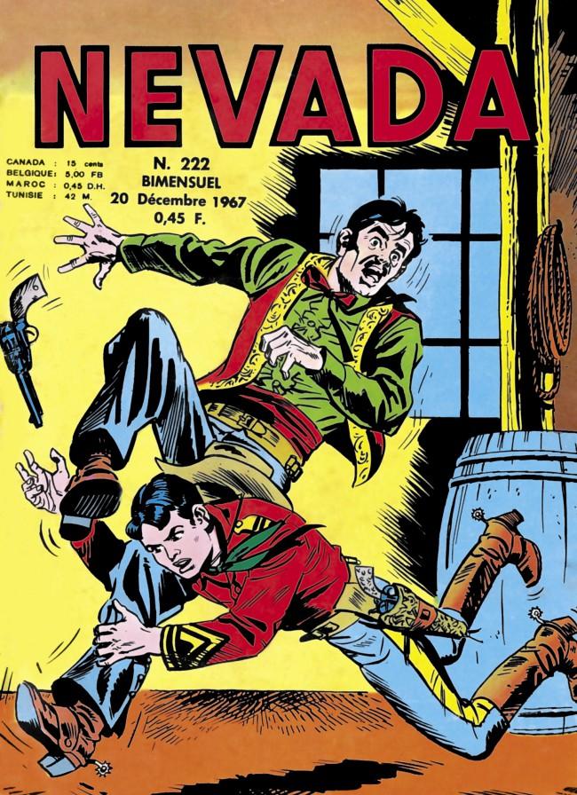Couverture de Nevada (LUG) -222- Numéro 222