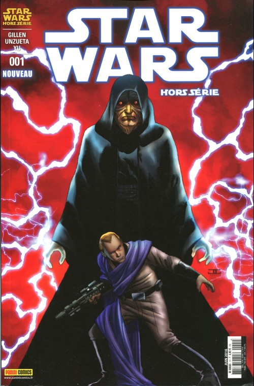 Couverture de Star Wars (Panini Comics - 2015) -HS1- Missions secrètes