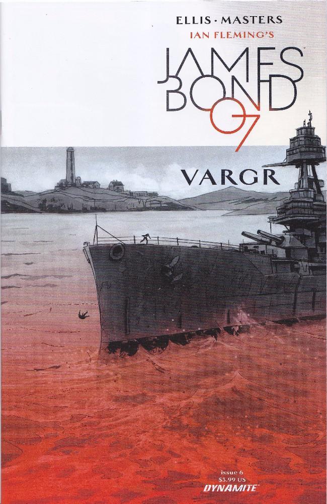 Couverture de James Bond (2015) -6- Issue 6