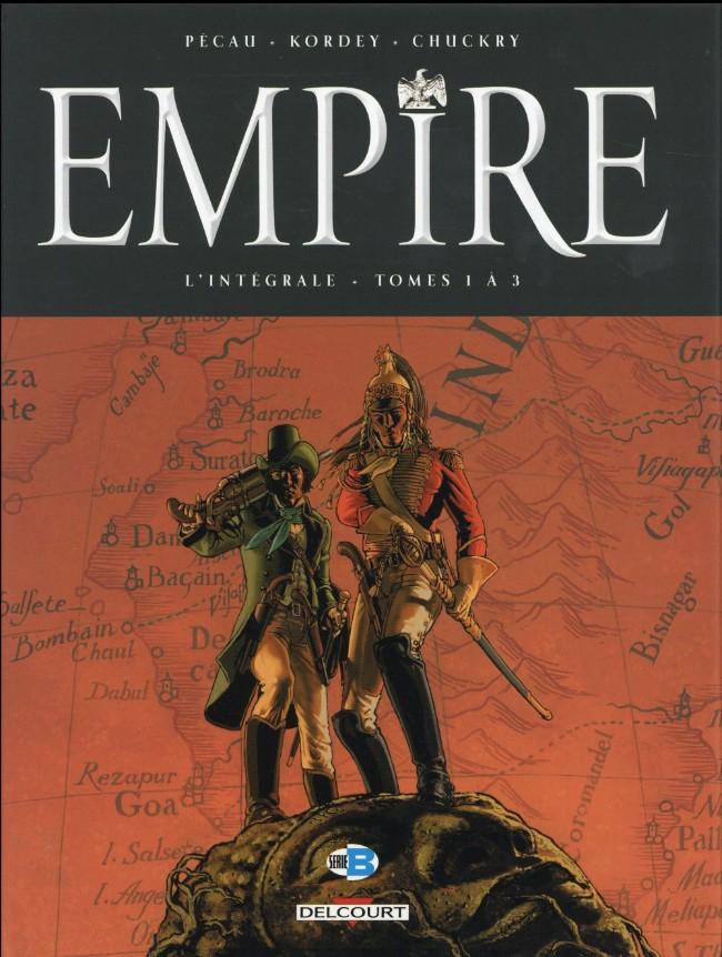 Couverture de Empire (Pécau/Kordey) -INT01- L'intégrale - Tomes 1 à 3