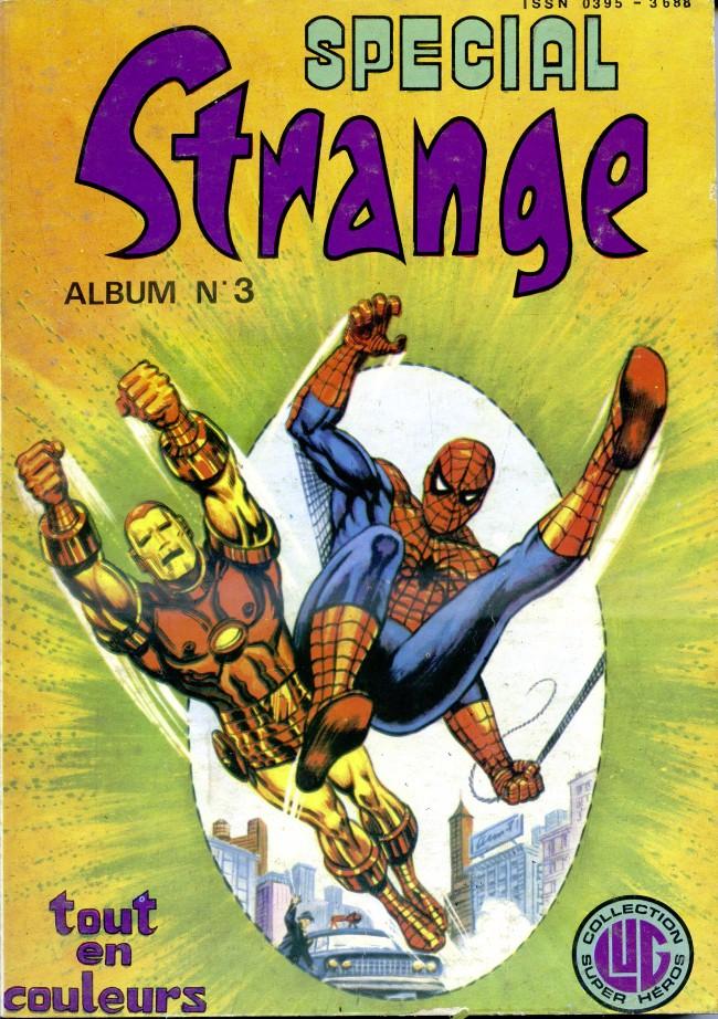 Couverture de Spécial Strange -Rec03- Album N°3 (du n°7 au n°9)