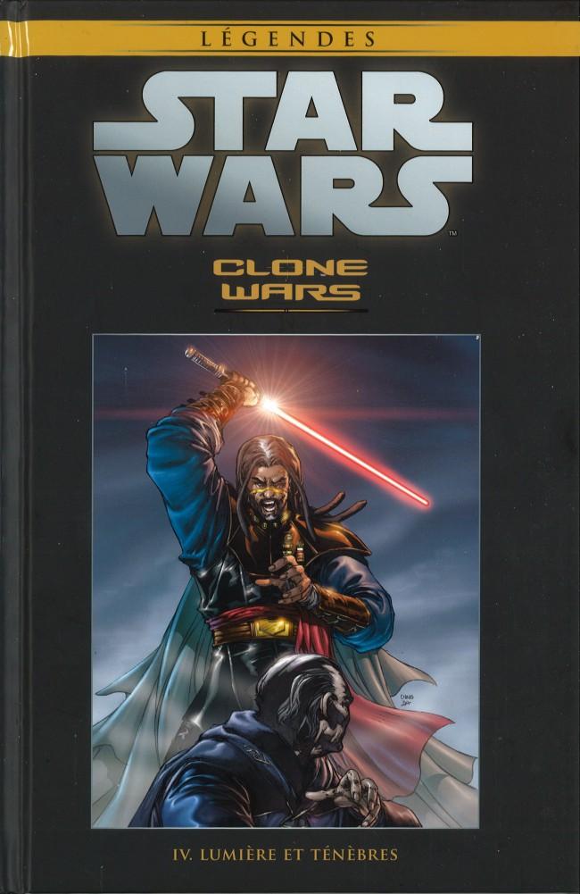 Couverture de Star Wars - Légendes - La Collection (Hachette) -1729- Clone Wars - IV. Lumière et Ténèbres
