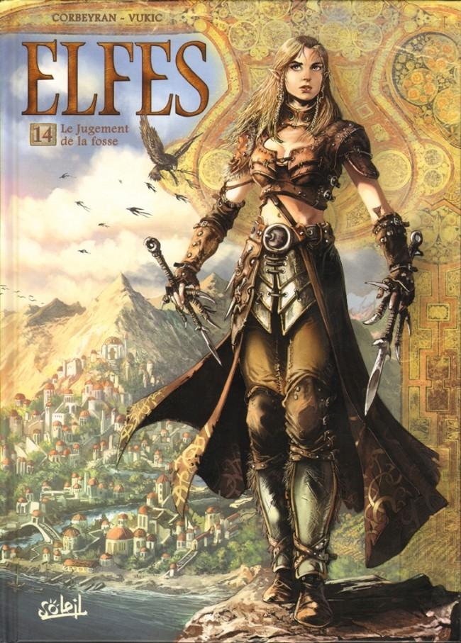 Couverture de Elfes -14- Le Jugement de la fosse
