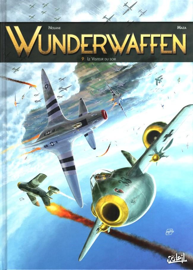 Couverture de Wunderwaffen -9- Le Visiteur du soir
