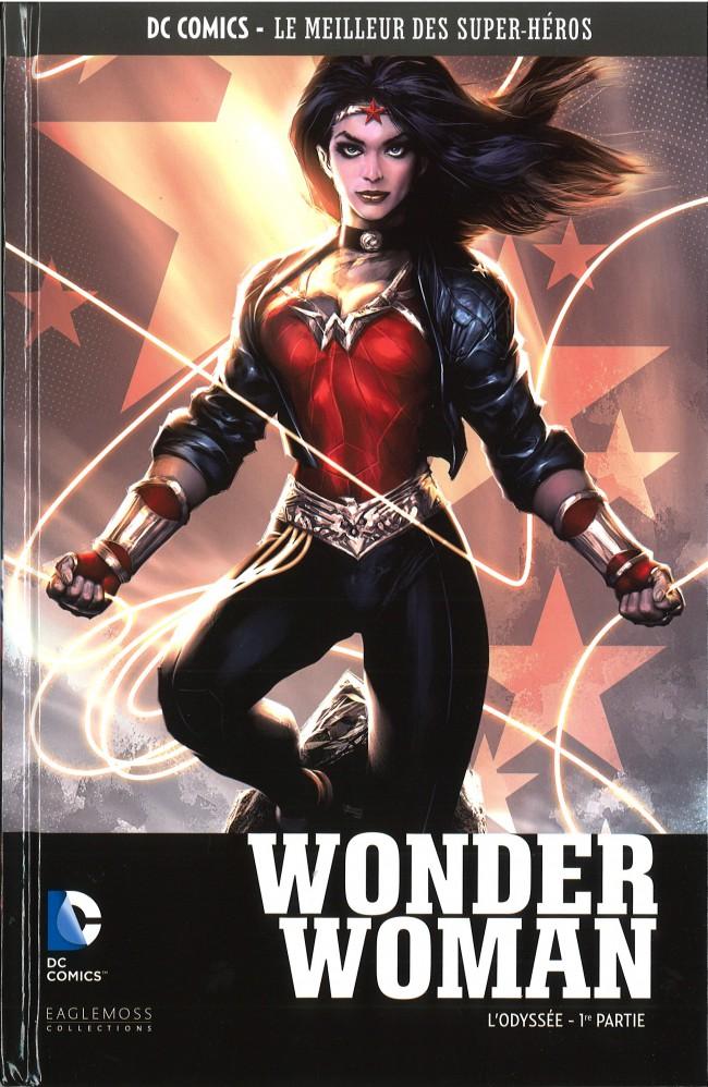 Couverture de DC Comics - Le Meilleur des Super-Héros -22- Wonder Woman - L'Odyssée - 1re partie