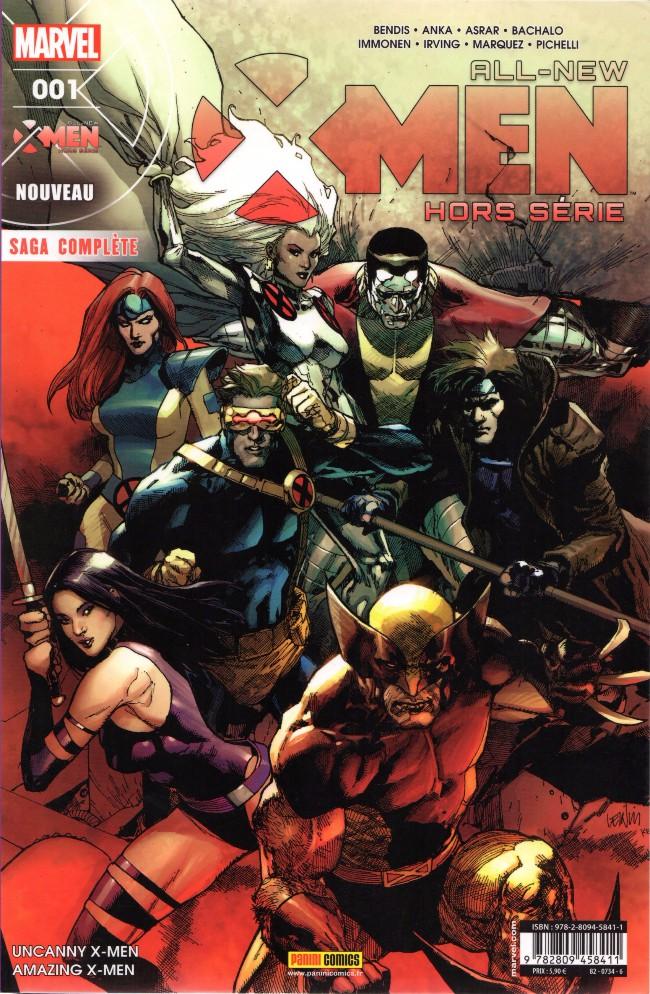 Couverture de All-New X-Men -HS01- Le Procès d'Henry McCoy