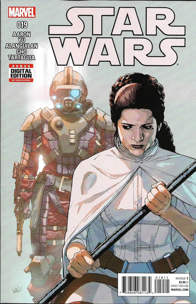 Couverture de Star Wars (2015) -19- book IV, Part IV : Rebel Jail