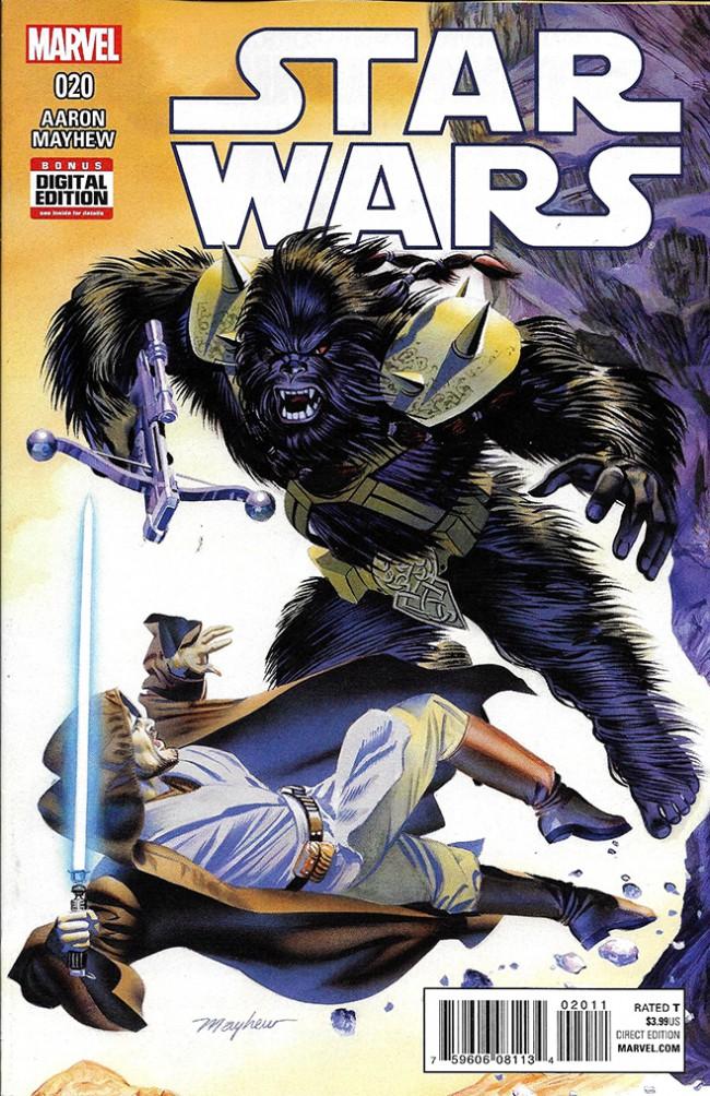 Couverture de Star Wars (2015) -20- Kenobi's journal III