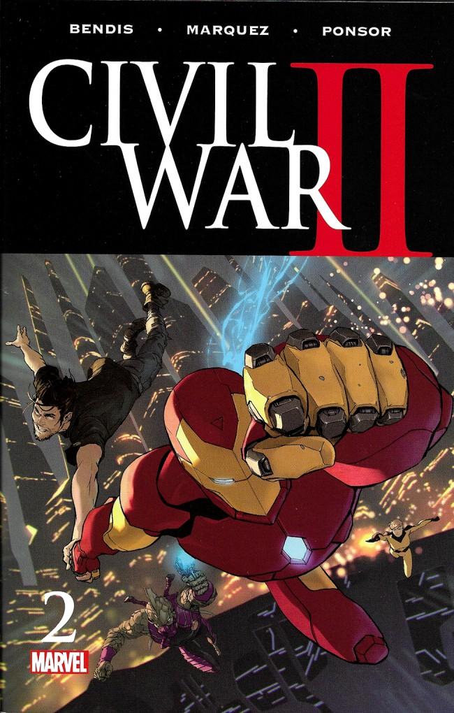 Couverture de Civil War II (2016) -2- Civil War Part 2