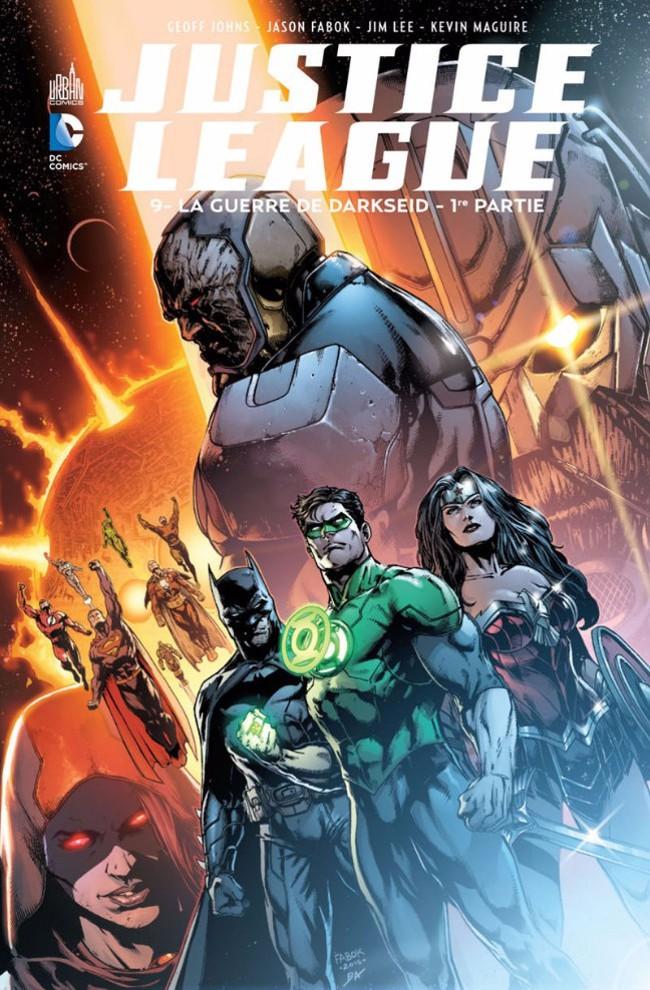 Couverture de Justice League (DC Renaissance) -9- La Guerre de Darkseid - 1re partie