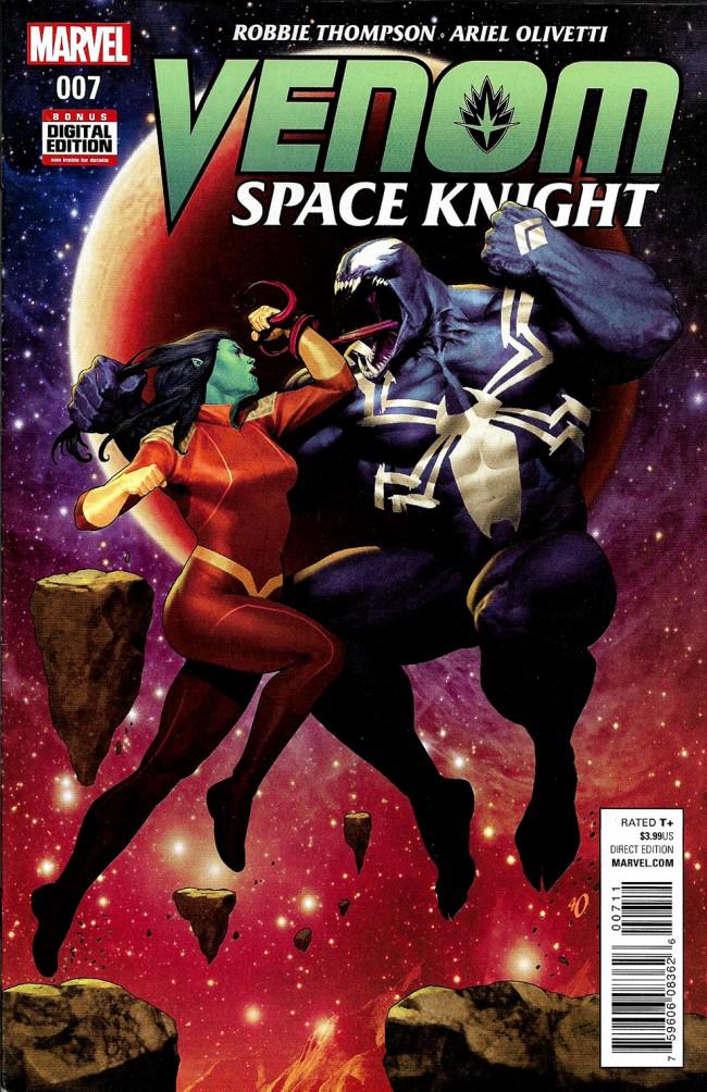 Couverture de Venom: Space Knight (2016) -7- Issue 7