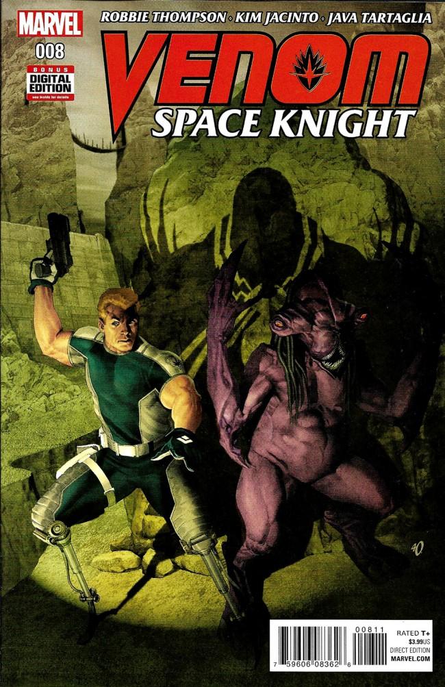 Couverture de Venom: Space Knight (2016) -8- Issue 8