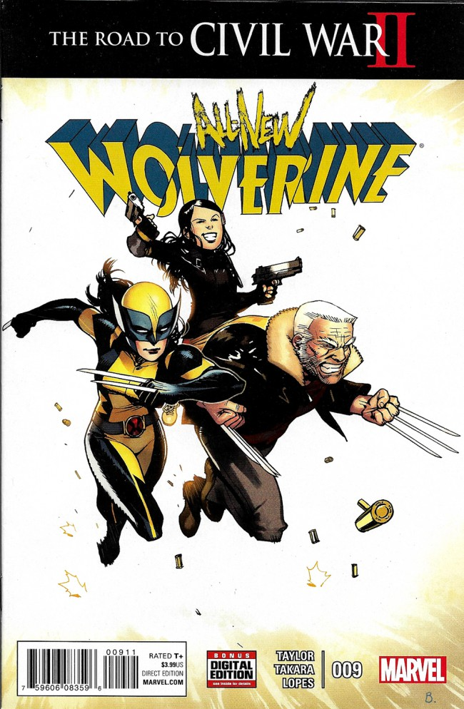 Couverture de All-New Wolverine (2016) -9- Issue 9