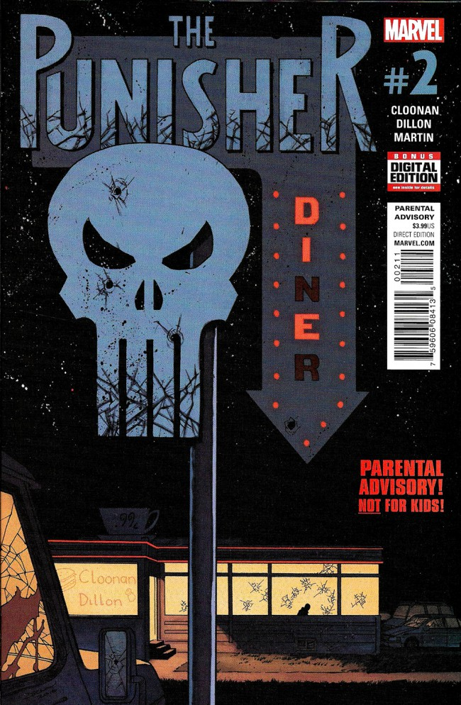 Couverture de Punisher (2016) (The) -2- Issue 2