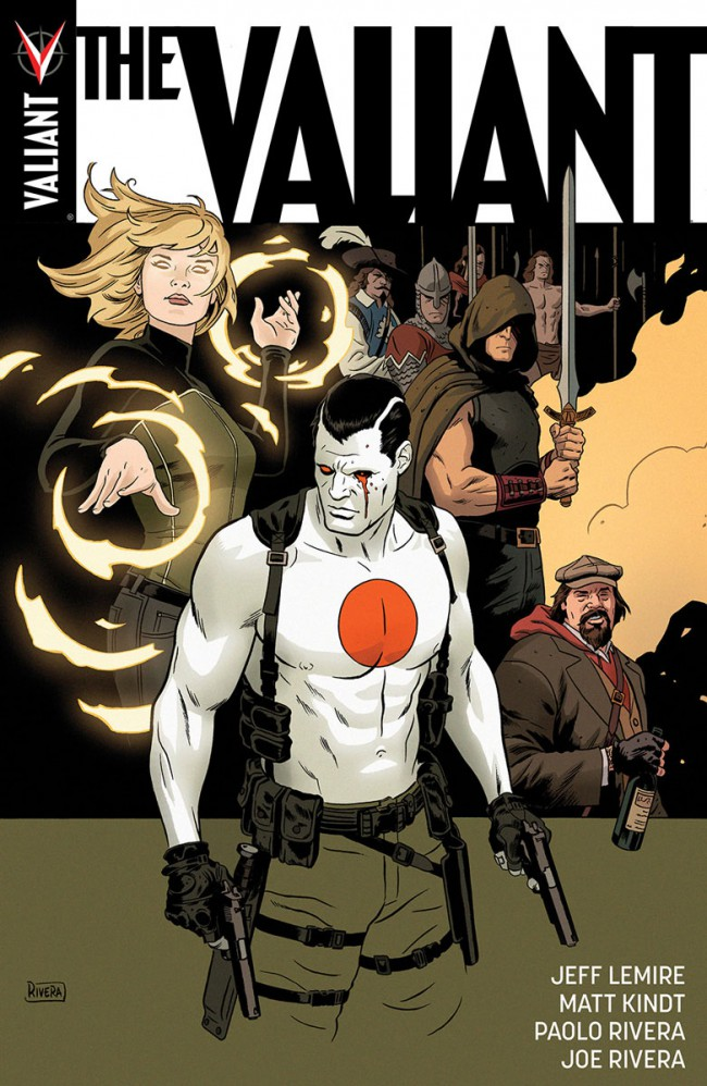 Couverture de The valiant (Valiant comics - 2014) -INT01- The Valiant Deluxe Edition