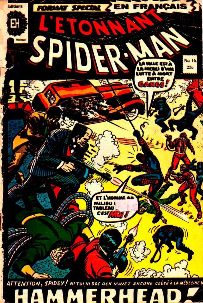 Couverture de L'Étonnant Spider-Man (Éditions Héritage) -16- Hammerhead