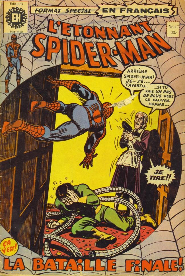 Couverture de L'Étonnant Spider-Man (Éditions Héritage) -17- La bataille finale