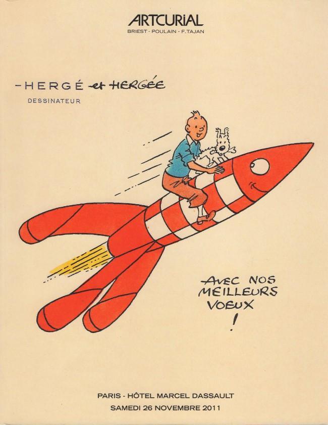 Couverture de (Catalogues) Ventes aux enchères - Artcurial - Artcurial - l'univers du créateur de Tintin - Paris - Hôtel Marcel Dassault - 26 novembre 2011