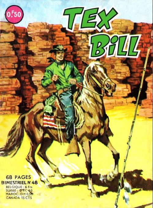 Couverture de Tex Bill -48- La revanche du shérif