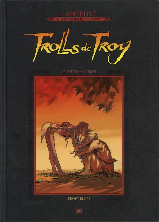 Couverture de Lanfeust et les mondes de Troy - La collection (Hachette) -63- Trolls de Troy - Pröfy Blues