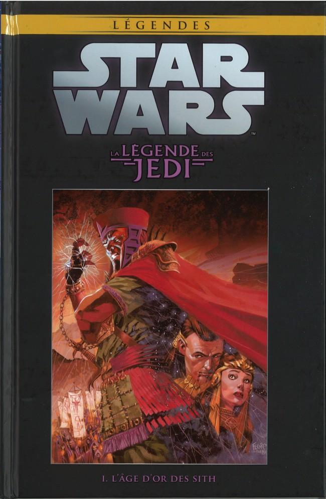 Couverture de Star Wars - Légendes - La Collection (Hachette) -184- La Légende des Jedi - I. L'Âge d'Or des Sith
