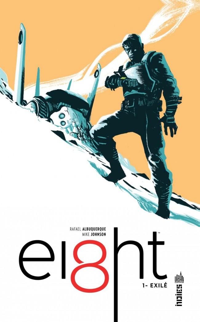 Couverture de Ei8ht -1- Exilé