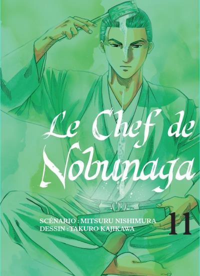 Couverture de Le chef de Nobunaga -11- Tome 11