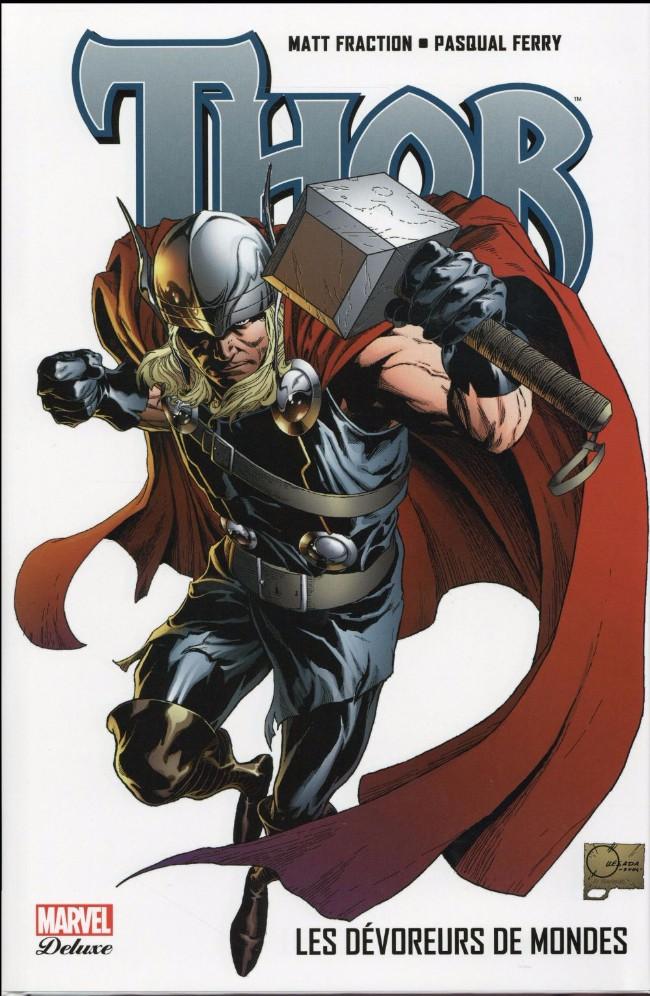 Couverture de Thor (Marvel Deluxe) -4- Les Dévoreurs de Mondes
