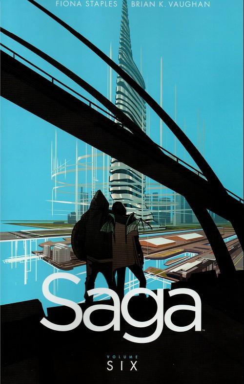 Couverture de Saga (Image comics - 2012) -INT06- Saga - Volume Six
