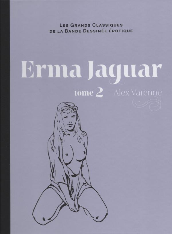 Couverture de Les grands Classiques de la Bande Dessinée érotique - La Collection -98- Erma Jaguar - tome 2