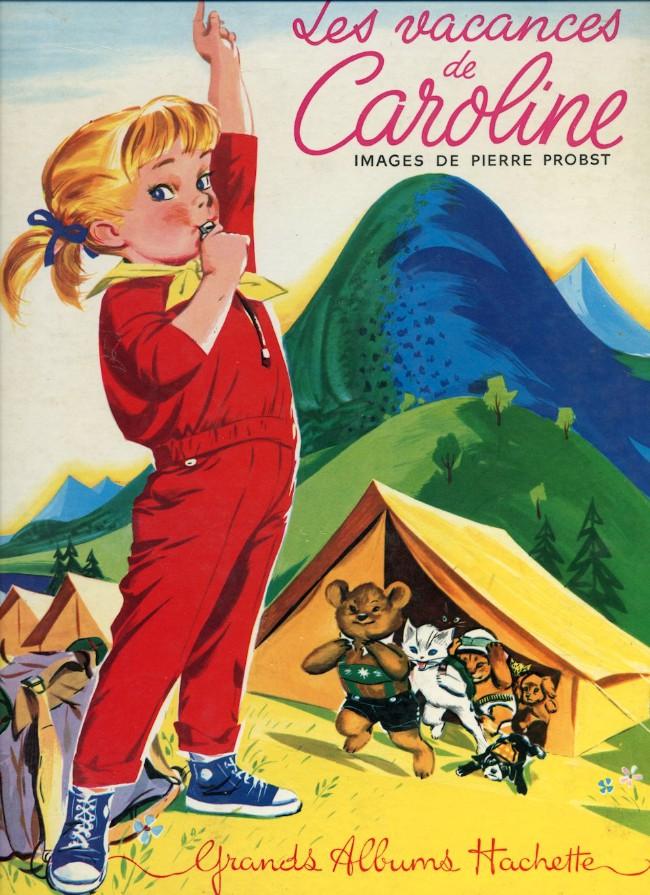 Couverture de Caroline -6- Les vacances de Caroline