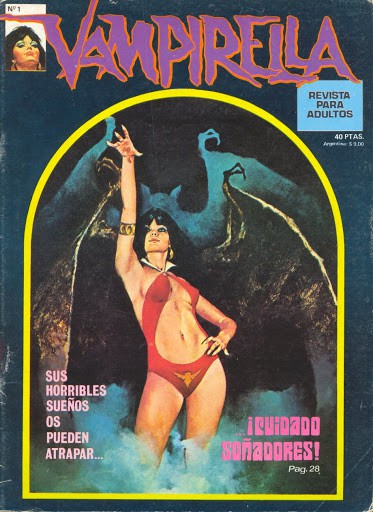Couverture de Vampirella (en espagnol) -1- ¡Cuidado soñadores!