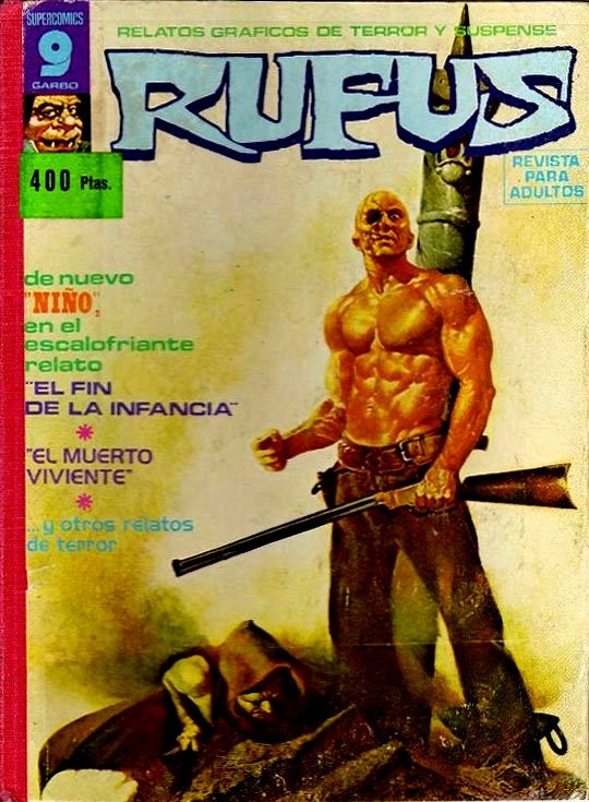 Couverture de Rufus (Eerie en espagnol) -REC 01- Recueil N°1