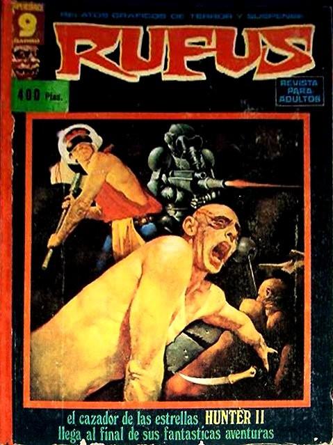 Couverture de Rufus (Eerie en espagnol) -REC 02- Recueil N°2