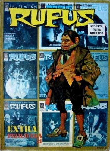 Couverture de Rufus (Eerie en espagnol) -EXTRA 01- Extra primavera 74