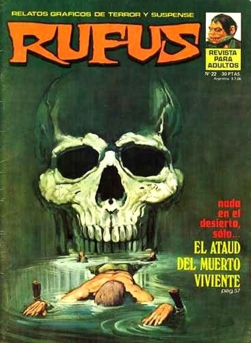 Couverture de Rufus (Eerie en espagnol) -22- El ataud del muerto viviente